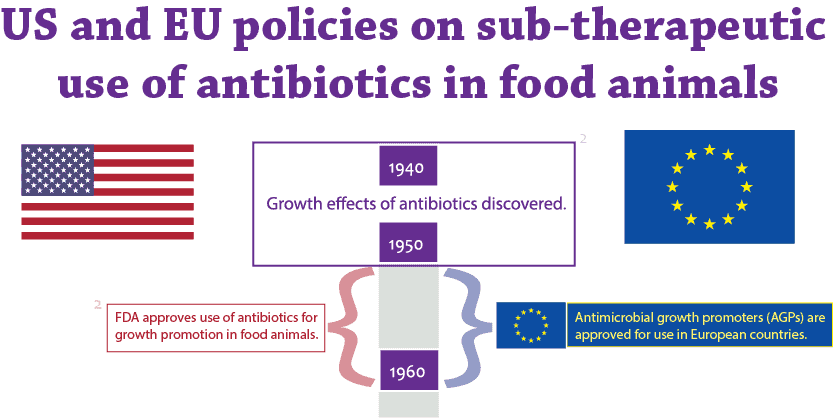 the use of antibiotics in animals He food and drug administration is the primary regulatory agency for antibiotic use in animals he fda determines which antibiotics are safe for use in livestock and.
